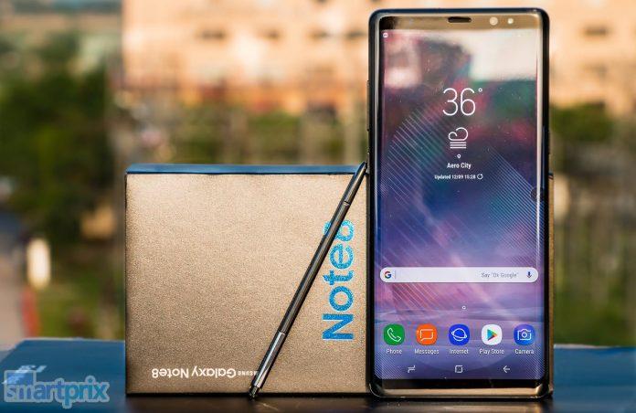Las 8 principales características del Samsung Galaxy Note 8 que son innovadoras y significativas