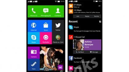 Interfaz de usuario de Nokia Normandy #