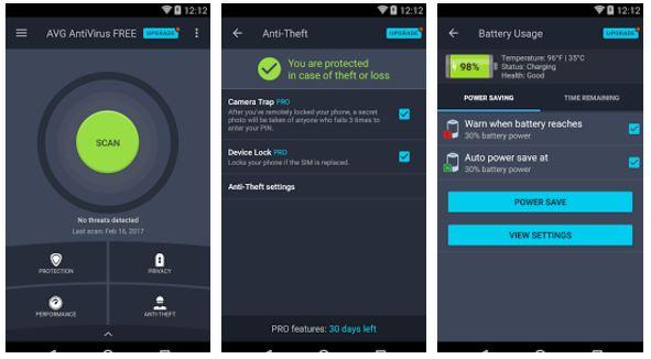 Las mejores aplicaciones antivirus para tabletas Android