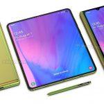 Los renderizados de Samsung Galaxy Fold 2 aparecen en línea