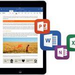 Microsoft actualiza las aplicaciones de Office para iPad a 1.1