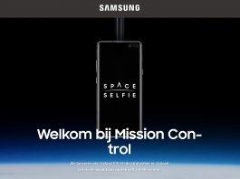 Misión Samsung SpaceSelfie con el Galaxy S10 5G