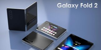 Modelos de teléfonos inteligentes plegables Samsung Galaxy Fold 2