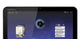 Motorola Xoom llega temprano al Reino Unido por £ 490
