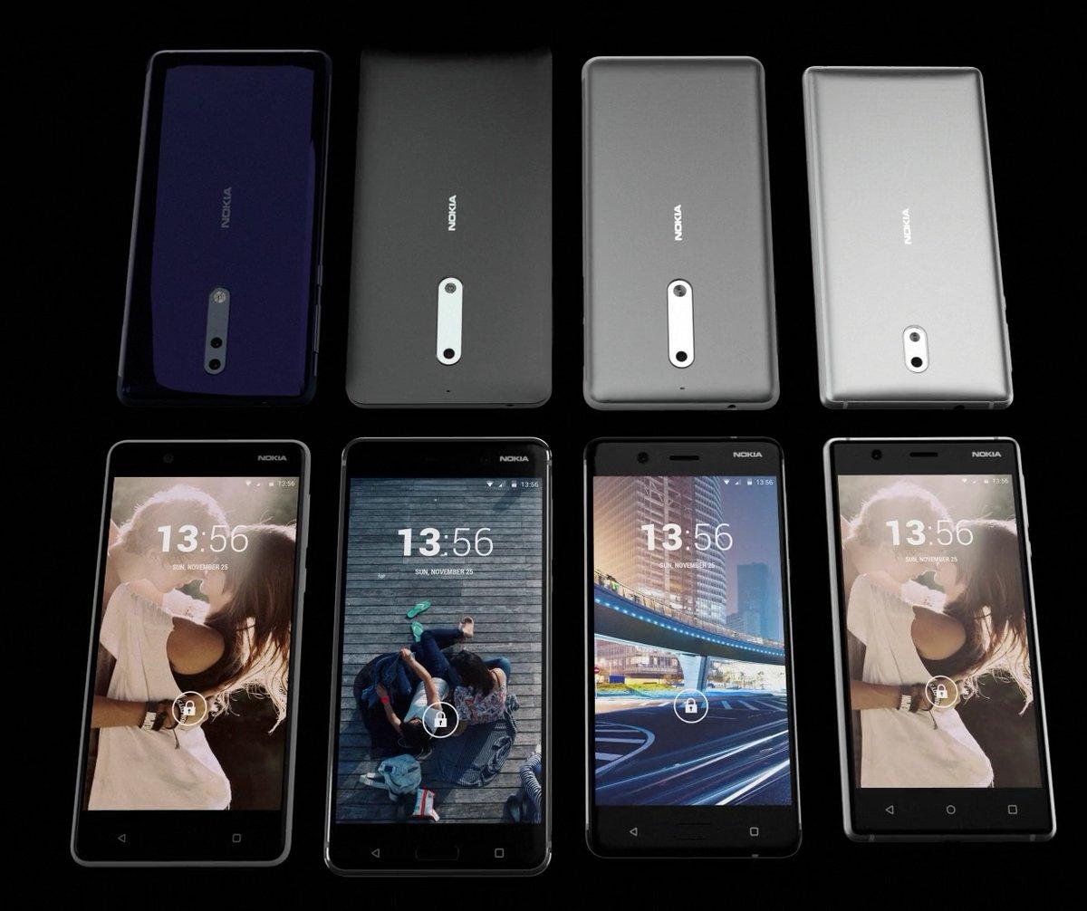 Nokia 8 y Nokia 9