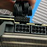 Nuevas imágenes de fugas del conector PCIe de 12 pines NVIDIA;  GeForce RTX 3090 requerirá una fuente de alimentación de 850 W