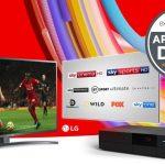 Obtenga un televisor 4K gratis cuando se registre en Virgin Media
