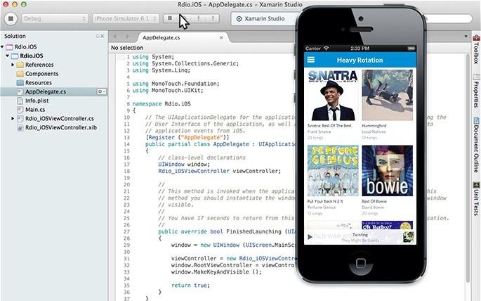Optimización del desarrollo móvil empresarial con Xamarin