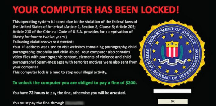 demanda de ransomware