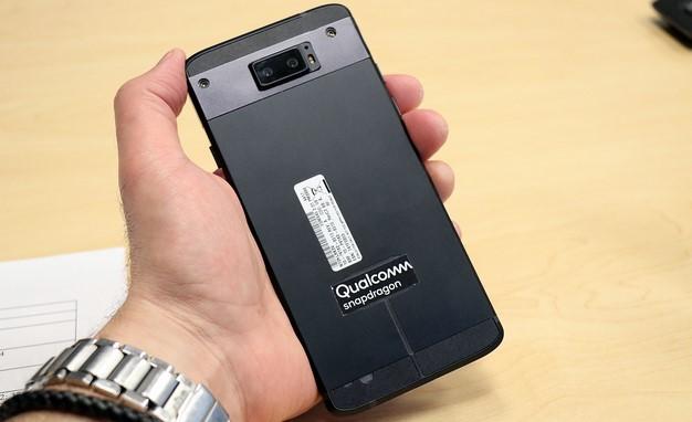 Dispositivo de prueba Snapdragon 845, trasero