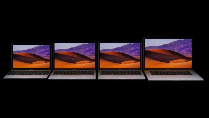 Rendimiento de la GPU Radeon Pro 555/560 frente a Radeon Pro 450/455/460 en la nueva MacBook Pro