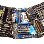 Resumen de la placa base X79: ASRock, ASUS, Gigabyte