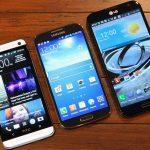 Resumen de superphone: Samsung, HTC, LG y más
