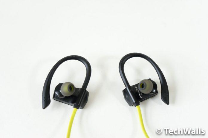 Revisión de auriculares Bluetooth iClever BoostRun BTH07 - Auriculares deportivos con gancho de silicona