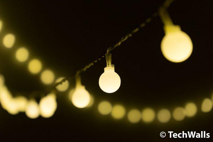 Revisión de luces LED de cadena de globo alimentadas por USB de LOHAS