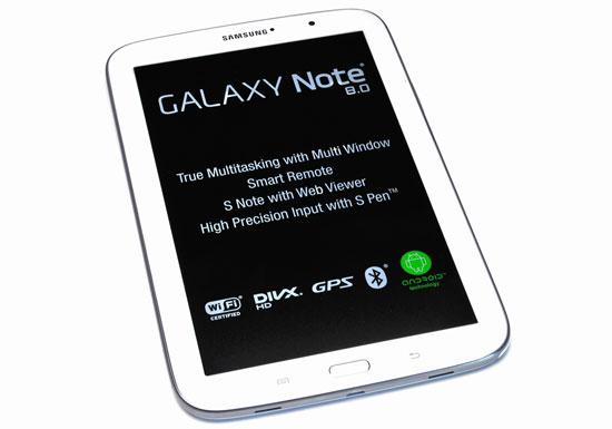 Revisión del Samsung Galaxy Note 8.0
