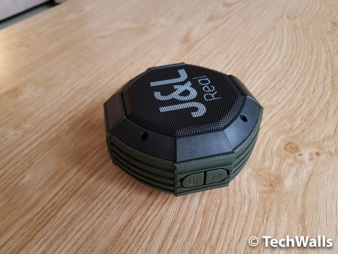 Revisión del altavoz portátil inalámbrico Bluetooth para exteriores J & L-12A