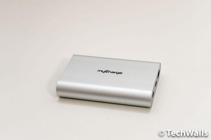 Revisión del cargador portátil myCharge RazorPlatinum USB Type-C para la nueva MacBook