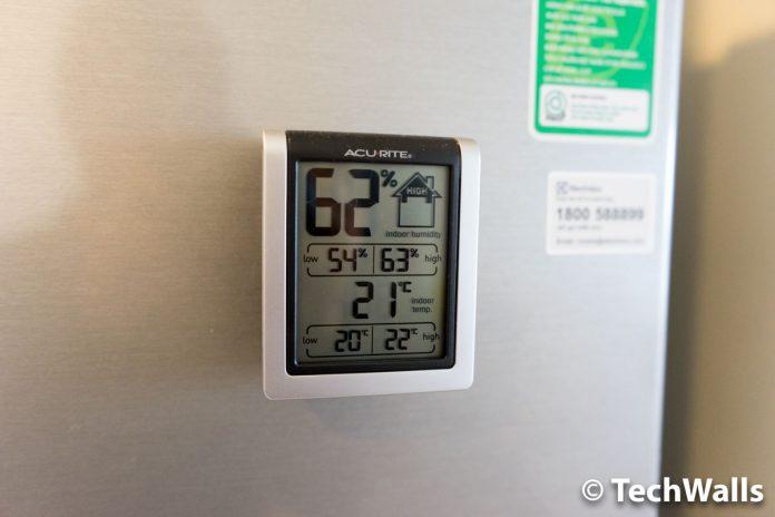Revisión del monitor de humedad interior AcuRite 00613: simple y precisa