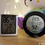 Revisión del monitor de humedad y termómetro interior ORIA