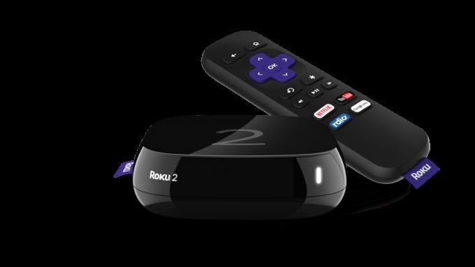 Roku 2 actualizado y control remoto