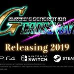 SD Gundam G Generation Cross Rays fusiona cuatro líneas de tiempo;  Lanzamiento multiplataforma en 2019