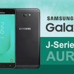 Samsung Galaxy J7 Aura y J3 Aura