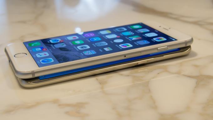 iPhone 6 Plus frente a Samsung Galaxy S6 Edge