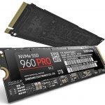 Samsung presenta SSD NVMe 960 Pro y 960 EVO ultrarrápidos a velocidades de hasta 3.5GB / s