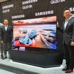 Samsung puede presentar televisores sin bisel en CES 2020