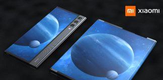 Smartphone enrollable Xiaomi con pantalla retráctil