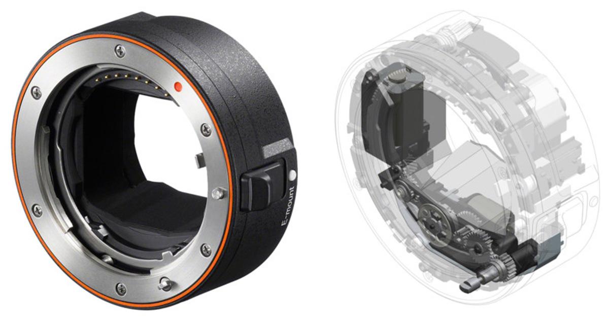 Sony presenta el adaptador de lente LA-EA5 con montura en A
