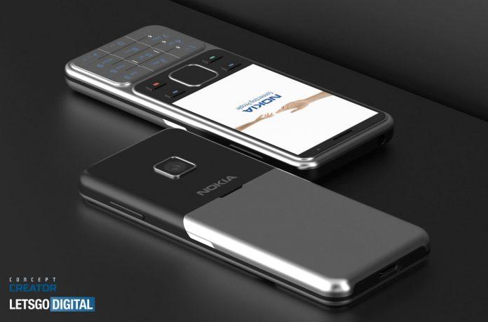 Teléfono con funciones Nokia 6300 4G (modelo 2020)
