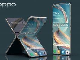Teléfono inteligente Oppo Reno Flip 5G con pantalla plegable hacia adentro