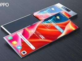 Teléfono plegable Oppo con pantalla plegable hacia afuera