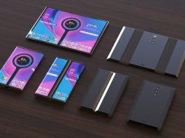 Teléfono plegable Xiaomi con triple cámara trasera