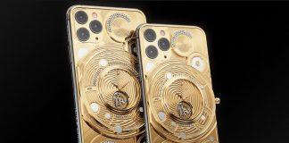 Teléfonos inteligentes iPhone 11 Pro Max Limited Edition de Caviar