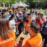 Xiaomi proporciona bancos de energía gratuitos de 20000 mAh a los periodistas que acampan en Istana Negara