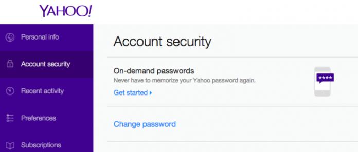 Contraseñas de Yahoo a pedido