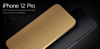 iPhone 12 Pro sin cámaras
