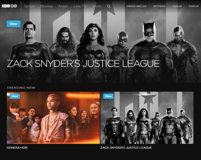 Zack Snyder's Justice League May Have Broken HBO Go Asia
