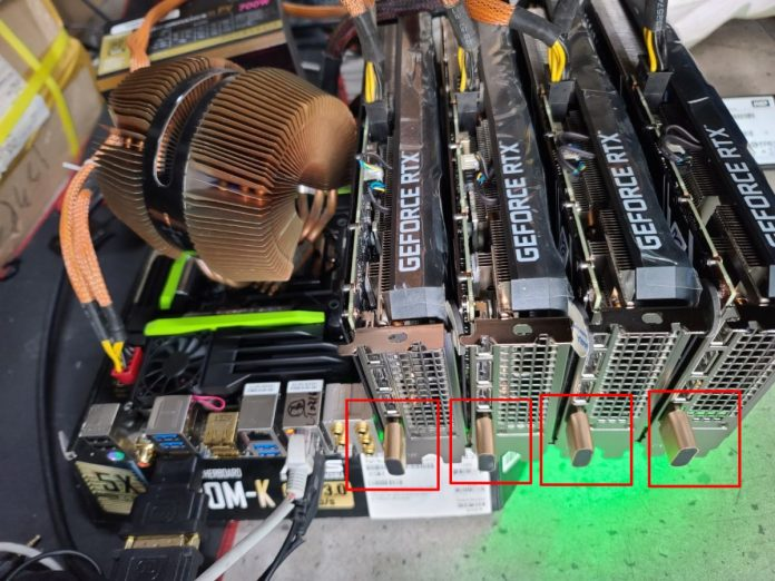 GPU Miners Bypass NVIDIA GeForce RTX 3060 Hashrate Limiter With Cheap HDMI Dummy Plug