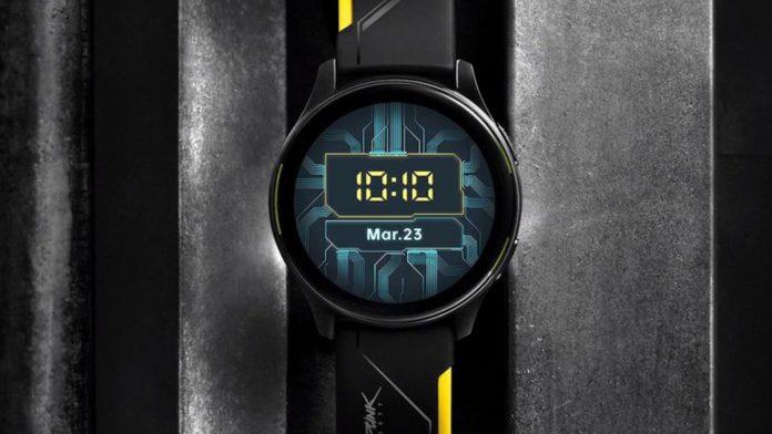 OnePlus Watch Cyberpunk 2077 Limited Edition China