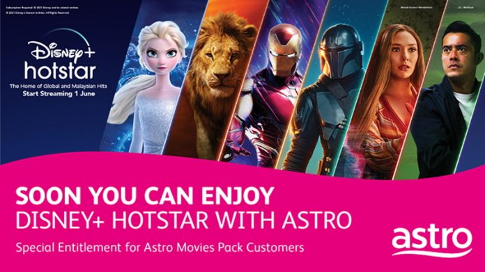 Astro Movie Pack Customers Have To Pay Extra RM 5 Per Month To Get Disney+ Hotstar