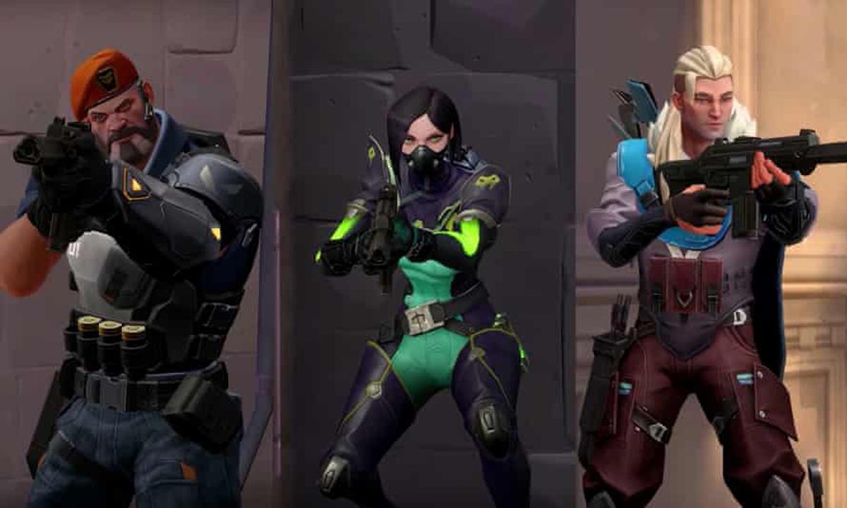Chat de voz en el juego de Valorant de Riot Games