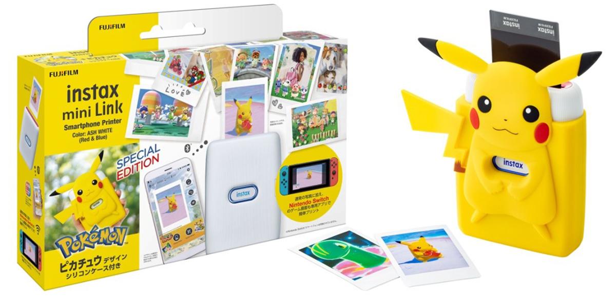 Nueva edición especial de la impresora Pokemon Snap Fujifilm Instax Mini Link