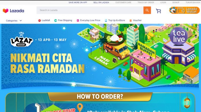Lazada Launches Lazat Bazaar; Featuring Same Day Delivery For Lemang, Murtabak, and More