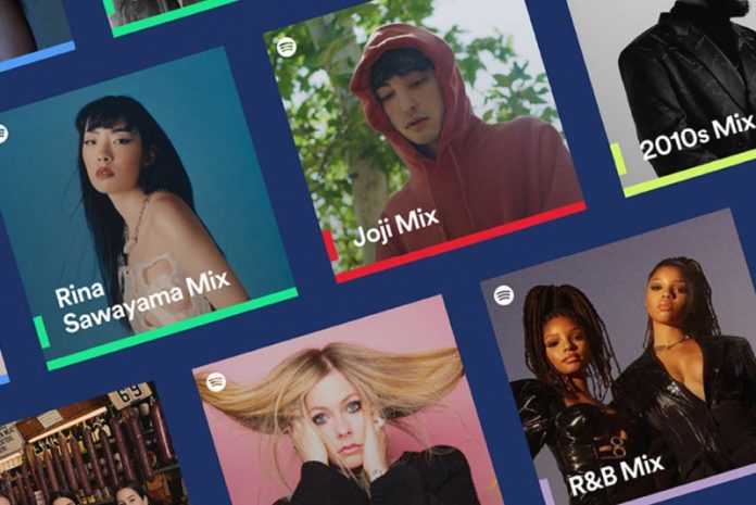 Spotify Launches New Personalised Mixes Based On Artist, Genre And Decade