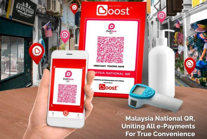 Boost Now Supports DuitNow QR; Instantly Increases Its Reach To More Merchants and Users