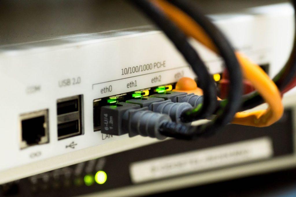 Cables LAN de Internet